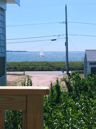 Wellfleet Cape Cod vacation rental - Private deck offers serene views