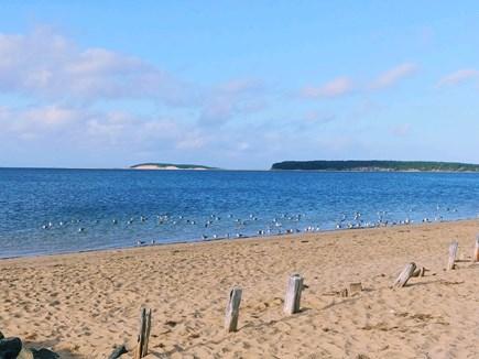 Wellfleet Cape Cod vacation rental - Secluded beach w/Great Island & Sunset views across the street