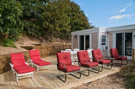 Wellfleet Cape Cod vacation rental - Plenty of seating options to enjoy the water views