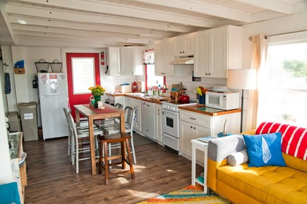 Wellfleet Cape Cod vacation rental - Open design offers direct water views and casual dining