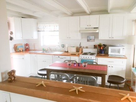Wellfleet Cape Cod vacation rental - Fully appointed kitchen with all new appliances
