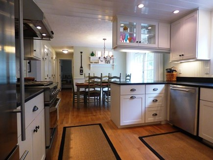 Chatham Cape Cod vacation rental - Upscale kitchen with granite and stainless appliances