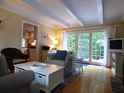 Chatham Cape Cod vacation rental - Second living area with access to back yard
