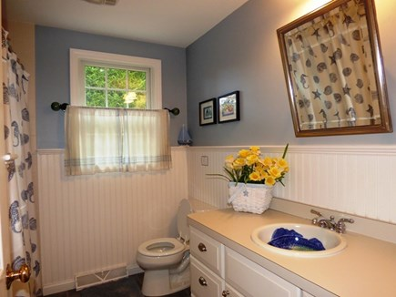 Chatham Cape Cod vacation rental - First floor full bath with tub/shower