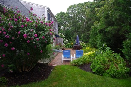 Chatham Cape Cod vacation rental - Back yard and patio area