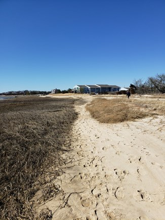 Chatham Cape Cod vacation rental - The path home from Lighthouse Beach