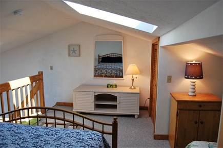 Chatham Cape Cod vacation rental - Loft view with skylight and storage
