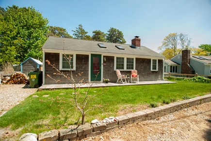 Dennisport Cape Cod vacation rental - Late April 2019, the grass is now in & flowers are in bloom