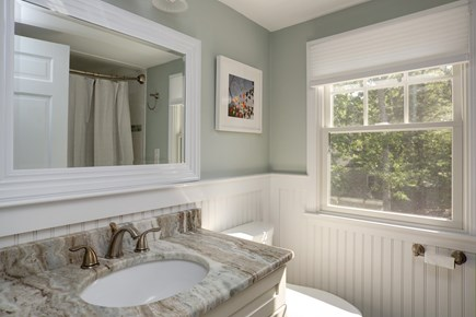 Osterville Osterville vacation rental - Full bath on second floor with tub and shower