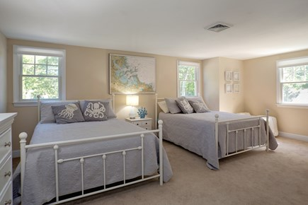 Osterville Osterville vacation rental - Third bedroom on second floor with two full beds and two closets