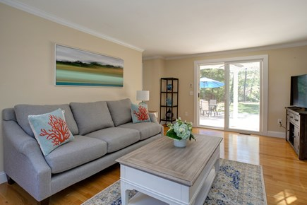 Osterville Osterville vacation rental - Spacious living room with sliders to patio & back yard