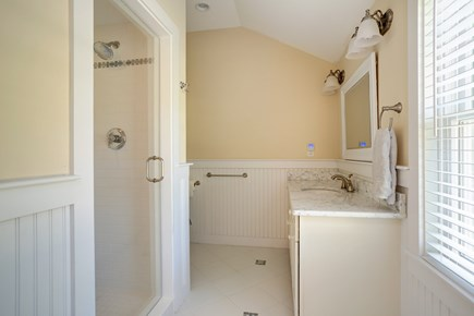 Osterville Osterville vacation rental - Master bath en suite with walk in shower
