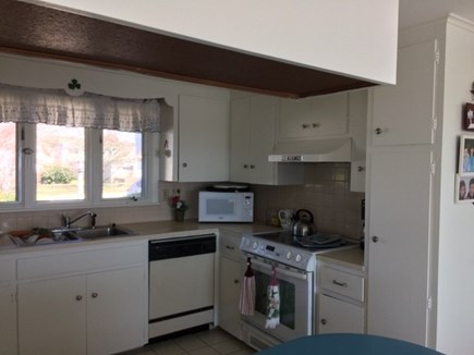 West Dennis Cape Cod vacation rental - Full open kitchen. Electric stove & range top. Has all you need!