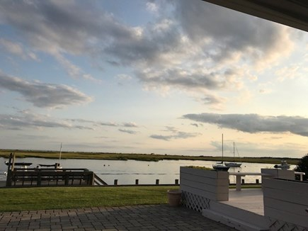 West Dennis Cape Cod vacation rental - Scenic view from kitchen, first floor