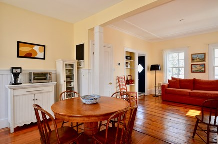 Provincetown Cape Cod vacation rental - Open kitchen and dining