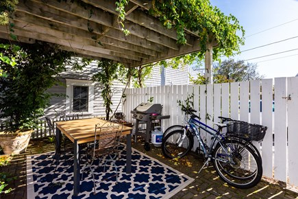 Provincetown Cape Cod vacation rental - Large lawn and patio with outdoor dining for you to enjoy