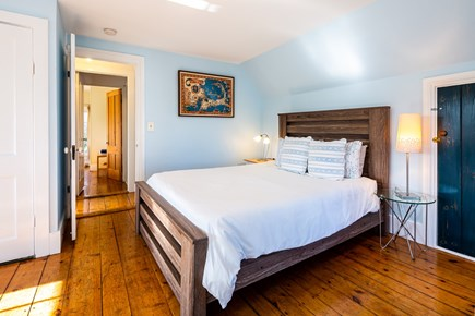 Provincetown Cape Cod vacation rental - Bedroom 1 - upper level queen with AC