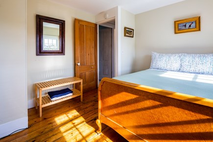Provincetown Cape Cod vacation rental - Bedroom 2 - upper level queen with AC