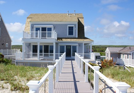 East Sandwich Cape Cod vacation rental - Beachside view