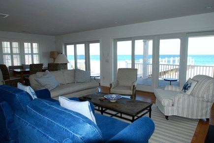 East Sandwich Cape Cod vacation rental - Living room with views