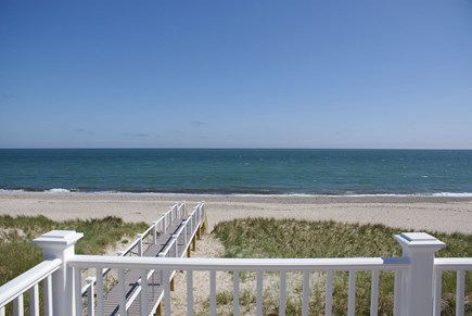 East Sandwich Cape Cod vacation rental - Views from the deck off the master bedroom