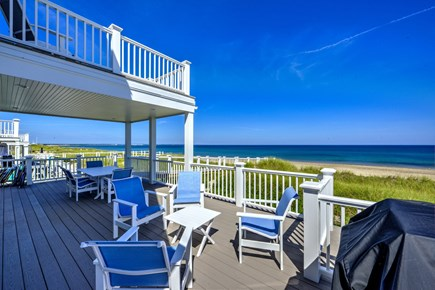 East Sandwich Cape Cod vacation rental - Deck