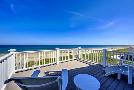 East Sandwich Cape Cod vacation rental - Upper level deck