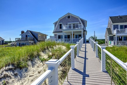 East Sandwich Cape Cod vacation rental - View from the beach