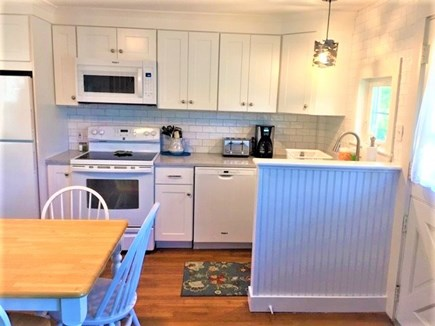 West Yarmouth Cape Cod vacation rental - Another view of the kitchen