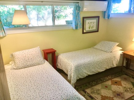Pocasset, Monument Beach Cape Cod vacation rental - One of two downstairs bedrooms - comfortable for two!