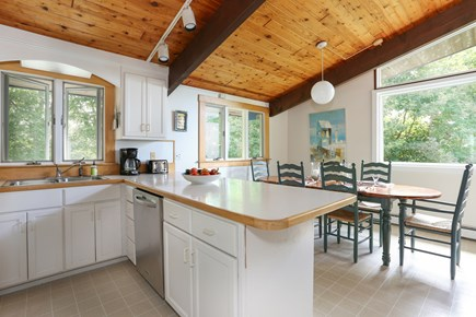 Pocasset, Monument Beach Pocasset vacation rental - Enjoy family meals in the well equipped kitchen.