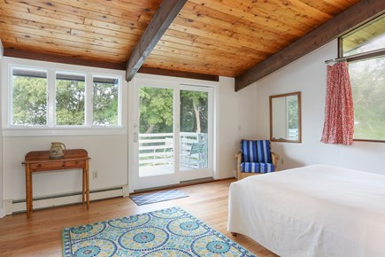 Pocasset, Monument Beach Pocasset vacation rental - The master bedroom has wonderful views of the water.
