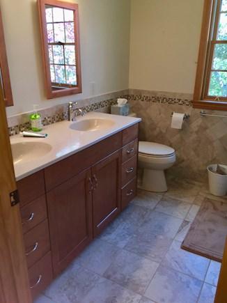Brewster Cape Cod vacation rental - 2nd floor bathroom (3 full bathrooms total)