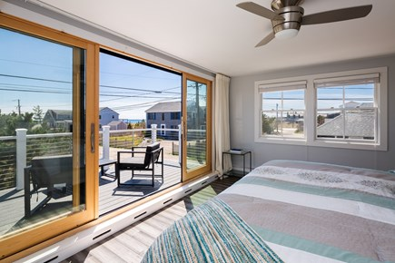 Provincetown Cape Cod vacation rental - Beautiful water views from the second floor master bedroom