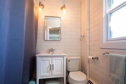 Provincetown Cape Cod vacation rental - Two full baths with rainhead showers, one on each level