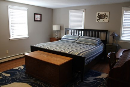 West Dennis Cape Cod vacation rental - Upstairs master king bedroom suite. Bedroom 1