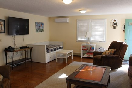 West Dennis Cape Cod vacation rental - Spacious living room with day bed