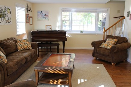 West Dennis Cape Cod vacation rental - Open & spacious living room for game night with the whole family!