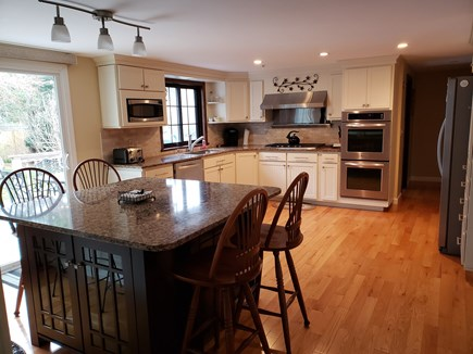 West Yarmouth Cape Cod vacation rental - Gourmet Kitchen with island, double ovens, and icemaker