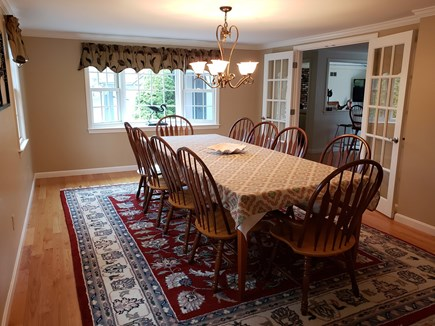 West Yarmouth Cape Cod vacation rental - Large Dining Room seats 12