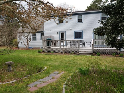 West Yarmouth Cape Cod vacation rental - Huge back yard