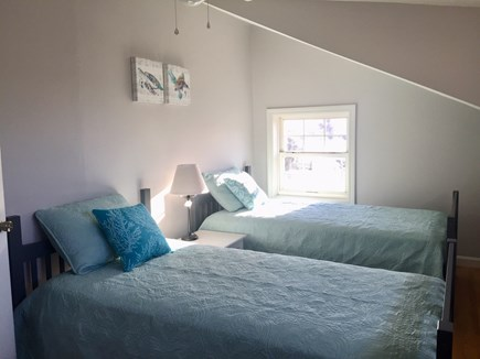 West Dennis Cape Cod vacation rental - Bedroom 2 - two twin beds.