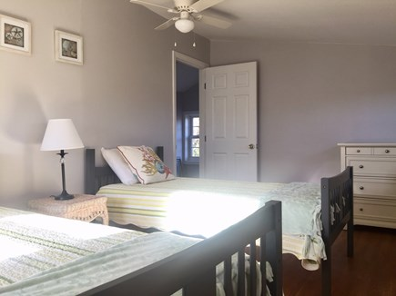 West Dennis Cape Cod vacation rental - Bedroom 3 - two twin beds.