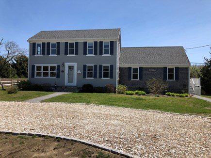 Orleans Cape Cod vacation rental - Apartment attached to right side of house.
