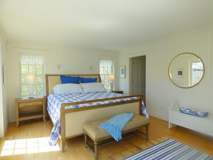 Chatham, .8 to Center Cape Cod vacation rental - 1st Floor En Suite Master Bedroom with King