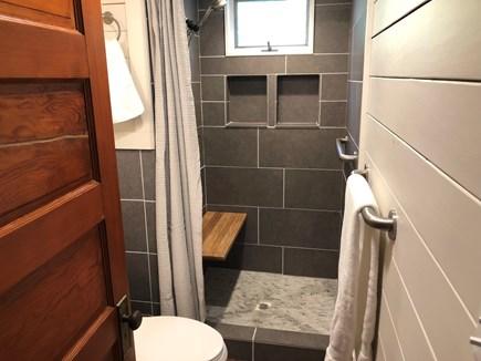 Woods Hole - Gansett Woods Woods Hole vacation rental - Downstairs Bathroom & Shower
