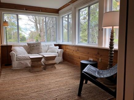 Woods Hole - Gansett Woods Woods Hole vacation rental - Light Filled Sun Room