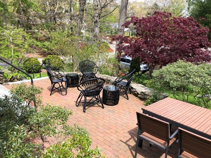 Woods Hole - Gansett Woods Woods Hole vacation rental - Cozy Patio for Relaxing & Dining