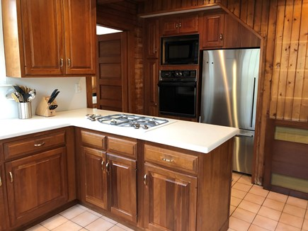 Woods Hole - Gansett Woods Woods Hole vacation rental - A Fully Equipped Kitchen