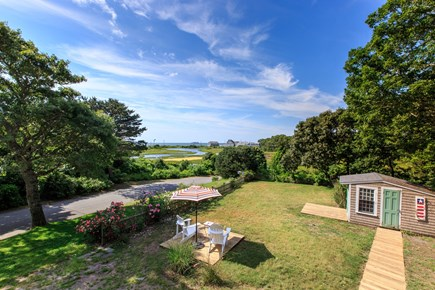 Hyannis Cape Cod vacation rental - View across salt marsh of Nantucket Sound and Hyannis Harbor